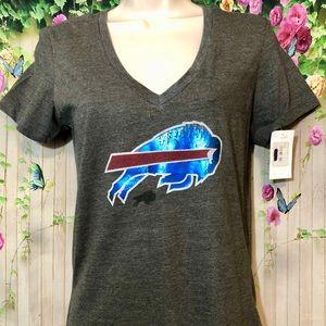 NFL Team Apparel Buffalo Bills Distressed Shirt